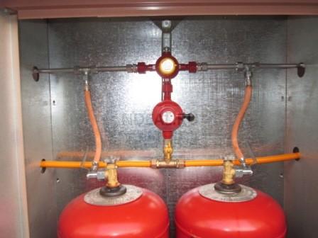 автоматическая газовая система