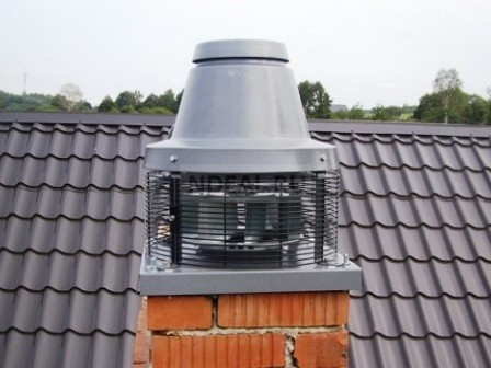 Вентилятор для дымохода