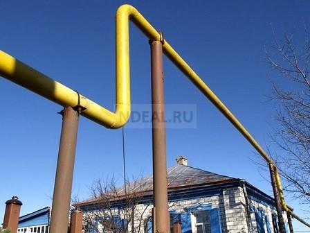 природный газ через трубопровод