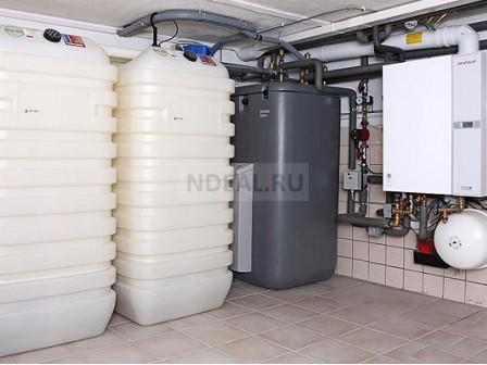 дизельное топливо в емкости