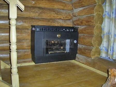 газовый конвектор в виде камина